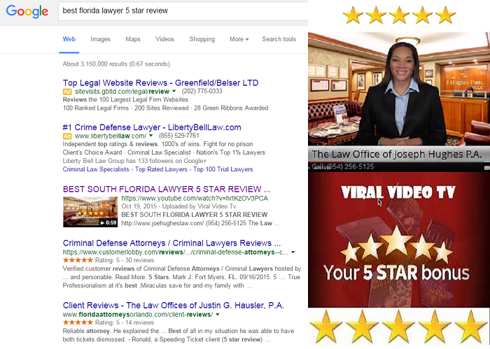 Best Florida Lawyers 5 Star Reviews